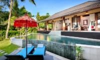 Reclining Sun Loungers - Villa Kubu Bidadari - Canggu, Bali