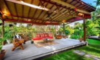 Outdoor Seating Area - Villa Kubu Bidadari - Canggu, Bali