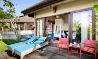 Sun Beds - Villa Kubu Bidadari - Canggu, Bali