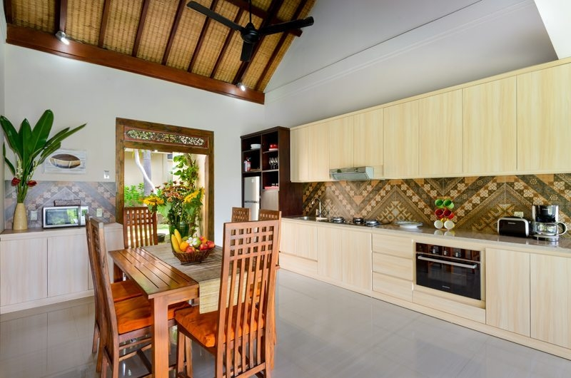 Kitchen Area - Villa Kubu Bidadari - Canggu, Bali