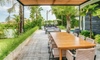 Outdoor Dining Area - Villa Ladacha - Canggu, Bali