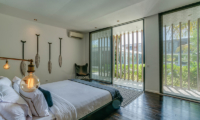 Bedroom with Garden View - Villa Ladacha - Canggu, Bali