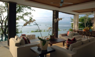 Living Area with Pool View - Villa Lago - Nusa Lembongan, Bali