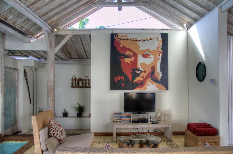 Lounge Area with TV - Villa Laksmana - Villa Laksmana 1 - Seminyak, Bali