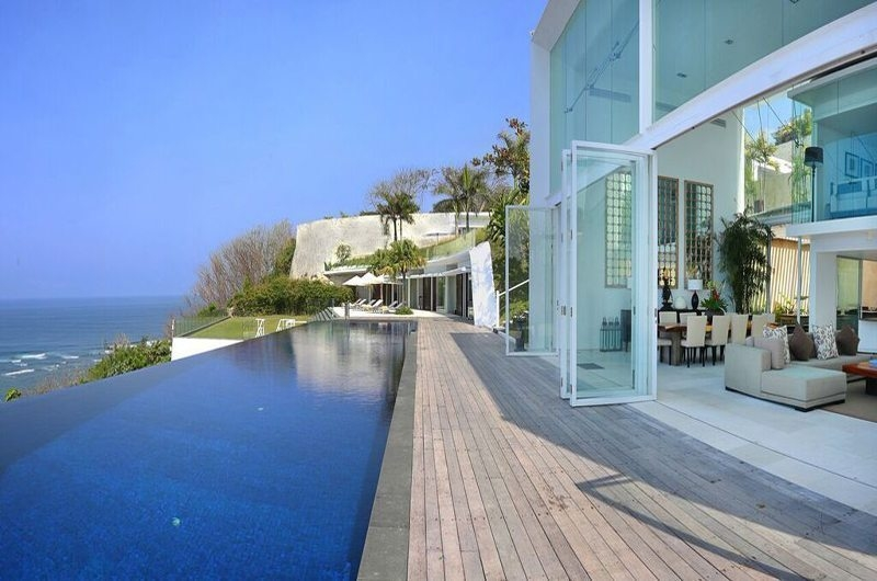 Pool Side - Villa Latitude Bali - Uluwatu, Bali