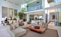 Indoor Living and Dining Area - Villa Latitude Bali - Uluwatu, Bali