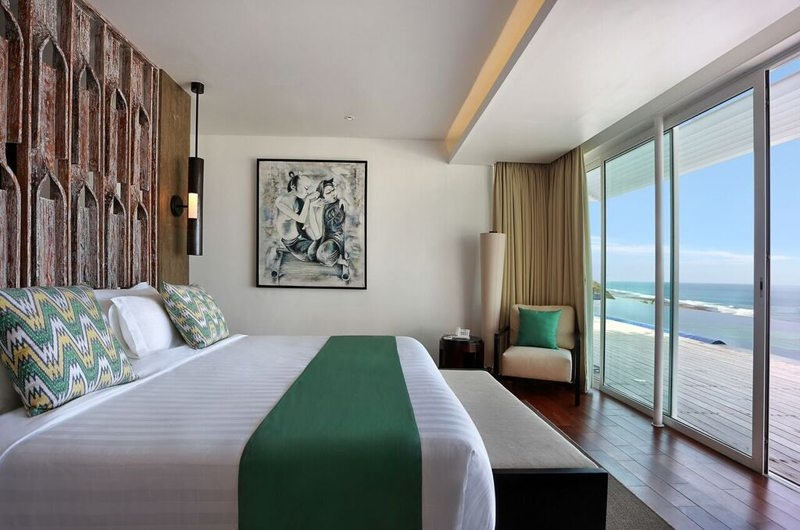 Bedroom with Sea View - Villa Latitude Bali - Uluwatu, Bali