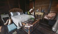 Bedroom with Wooden Floor - Villa Laut - Tabanan, Bali