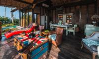 Living and Dining Area - Villa Laut - Tabanan, Bali