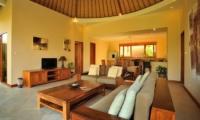 Indoor Living Area with TV - Villa Lea - Umalas, Bali