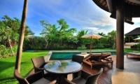 Pool Side Seating Area - Villa Lea - Umalas, Bali