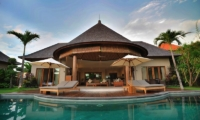 Pool Side Loungers - Villa Lea - Umalas, Bali