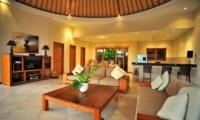 Living Area with TV - Villa Lea - Umalas, Bali
