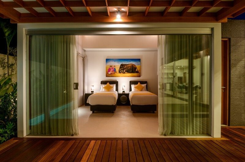 Twin Bedroom View - Villaley - Seminyak, Bali