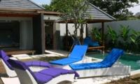 Reclining Sun Loungers - Villaley - Seminyak, Bali