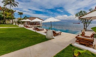 Pool Side Loungers - Villa Lucia - Candidasa, Bali