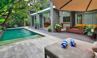 Pool Side - Villa Luna Aramanis - Seminyak, Bali