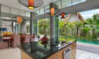 Kitchen Area - Villa Luna Aramanis - Seminyak, Bali