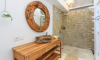 Bathroom with Shower - Villa Madura - Seminyak, Bali