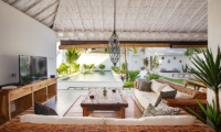 Living Area with Pool View - Villa Madura - Seminyak, Bali