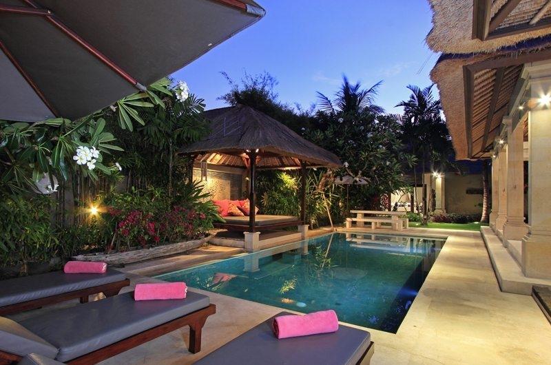 Sun Beds - Villa Maju - Seminyak, Bali