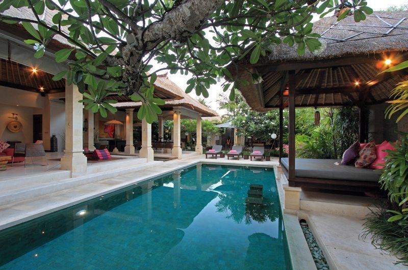 Reclining Sun Loungers - Villa Maju - Seminyak, Bali