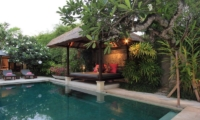 Pool Side - Villa Maju - Seminyak, Bali
