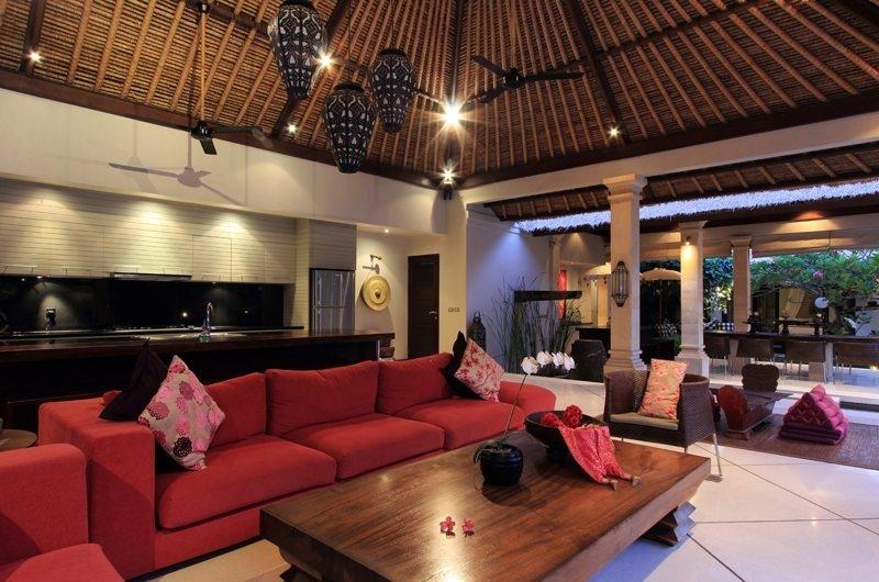 Living Area - Villa Maju - Seminyak, Bali