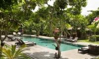 Pool Side Loungers - Villa Mamoune - Umalas, Bali