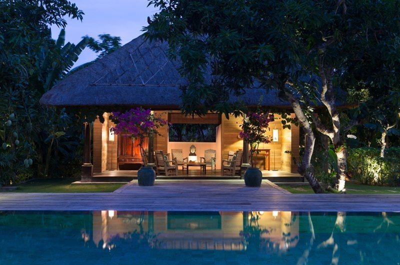 Pool at Night - Villa Mamoune - Umalas, Bali