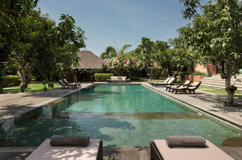 Gardens and Pool - Villa Mamoune - Umalas, Bali