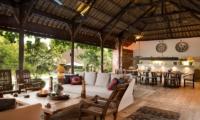 Indoor Living and Dining Area - Villa Mamoune - Umalas, Bali