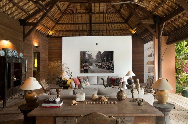 Living and Dining Area - Villa Mamoune - Umalas, Bali