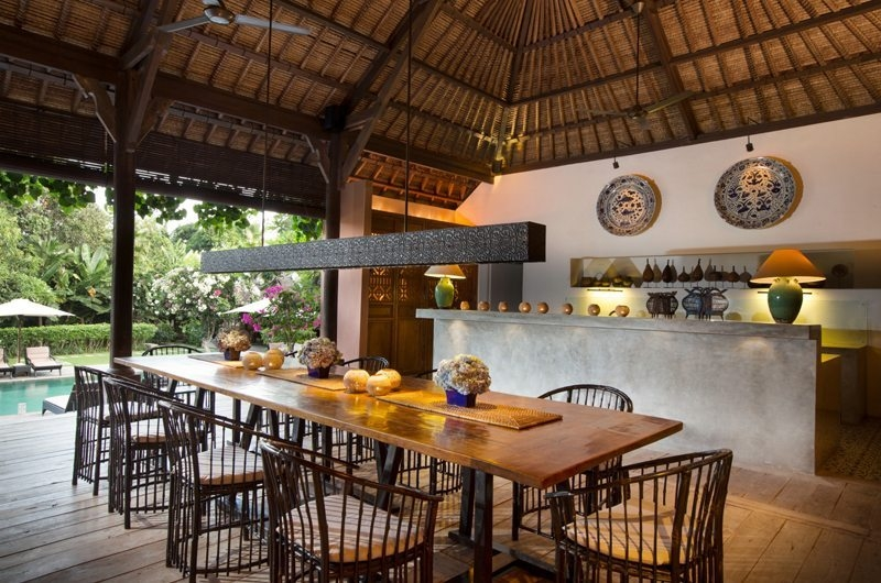 Dining Area - Villa Mamoune - Umalas, Bali