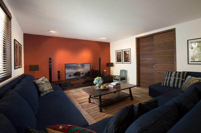 Lounge Area with TV - Villa Mamoune - Umalas, Bali