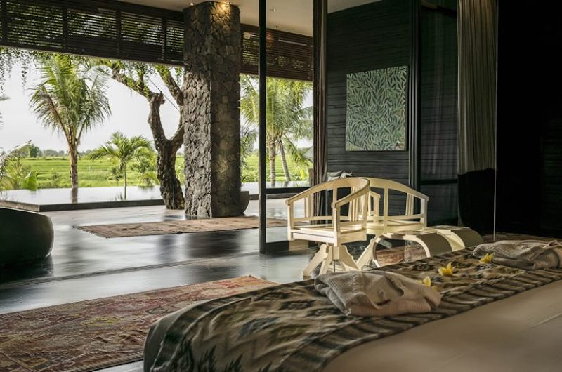 Bedroom with View - Villa Mana - Canggu, Bali