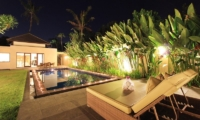 Pool at Night - Villa Mandala Sanur - Sanur, Bali