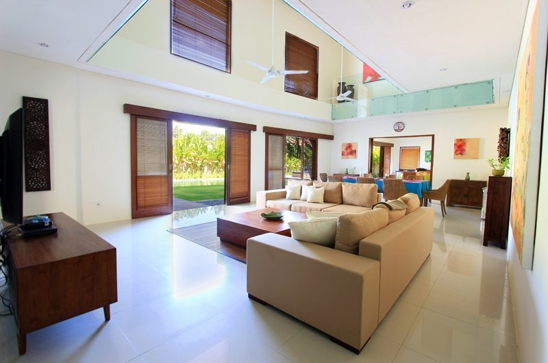Living Area with TV - Villa Mandala Sanur - Sanur, Bali