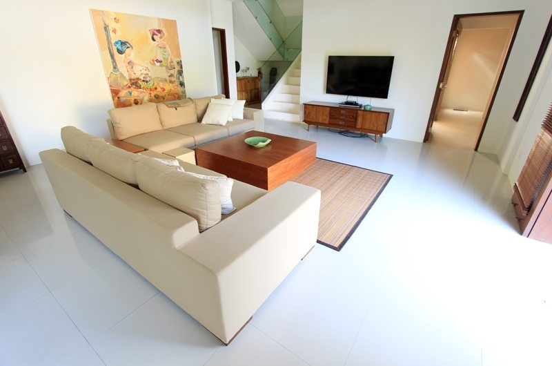 Family Area with TV - Villa Mandala Sanur - Sanur, Bali