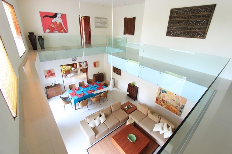 Living and Dining Area Top View - Villa Mandala Sanur - Sanur, Bali