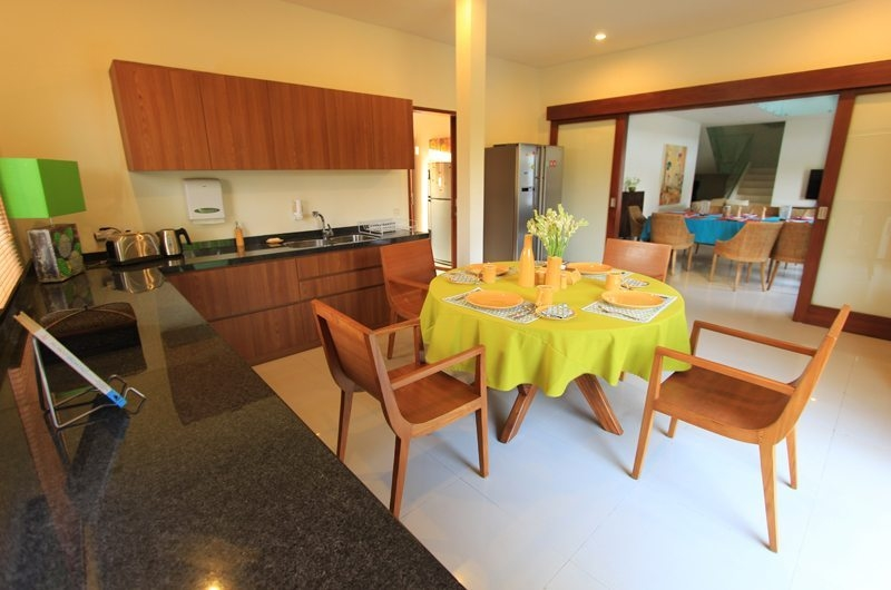 Kitchen and Dining Area - Villa Mandala Sanur - Sanur, Bali