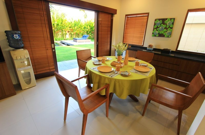 Dining Area with Garden View - Villa Mandala Sanur - Sanur, Bali