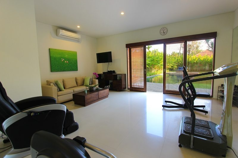 Gym with Seating Area - Villa Mandala Sanur - Sanur, Bali