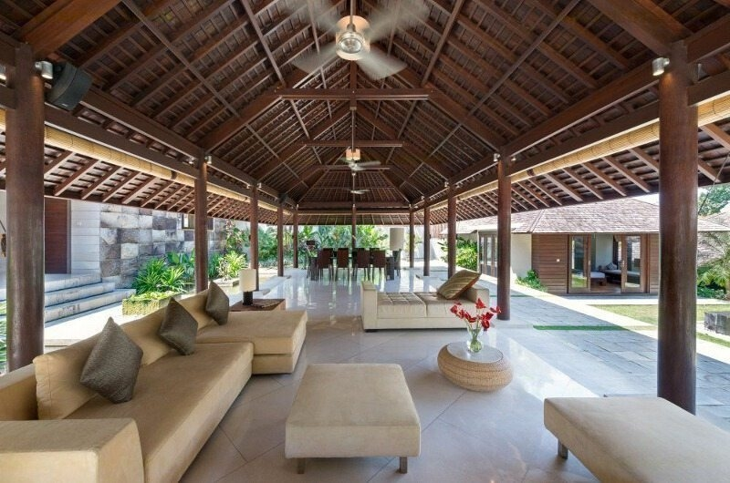 Indoor Living and Dining Area - Villa Mata Air - Canggu, Bali