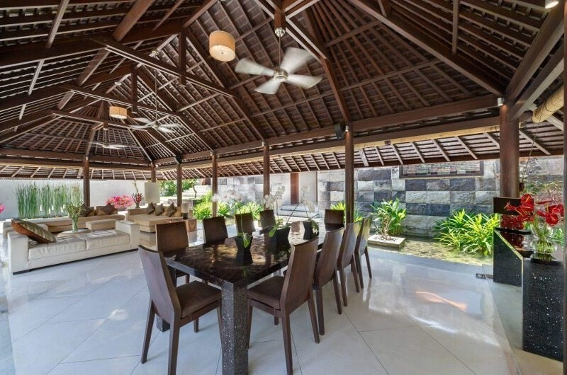 Dining Area - Villa Mata Air - Canggu, Bali