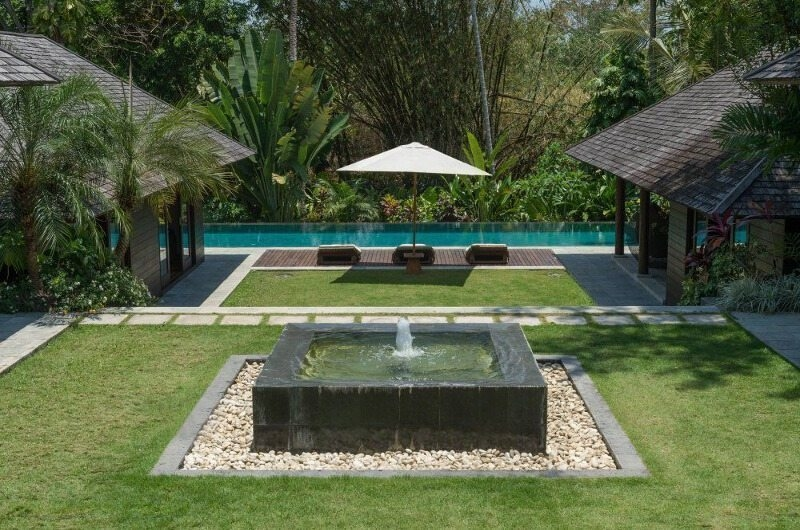 Gardens and Pool - Villa Mata Air - Canggu, Bali