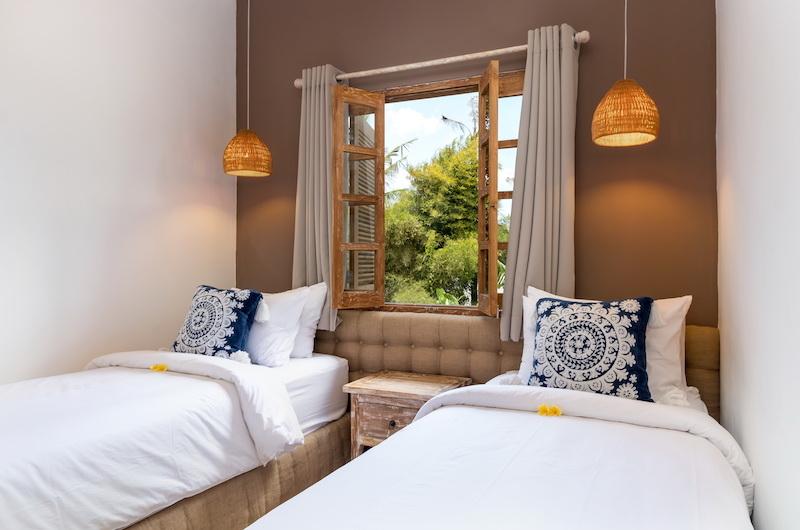 Twin Bedroom - Villa Maya Canggu - Canggu, Bali