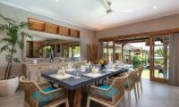 Dining Area - Villa Maya Canggu - Canggu, Bali