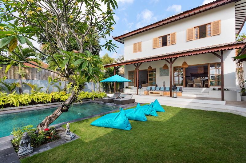 Pool Side - Villa Maya Canggu - Canggu, Bali