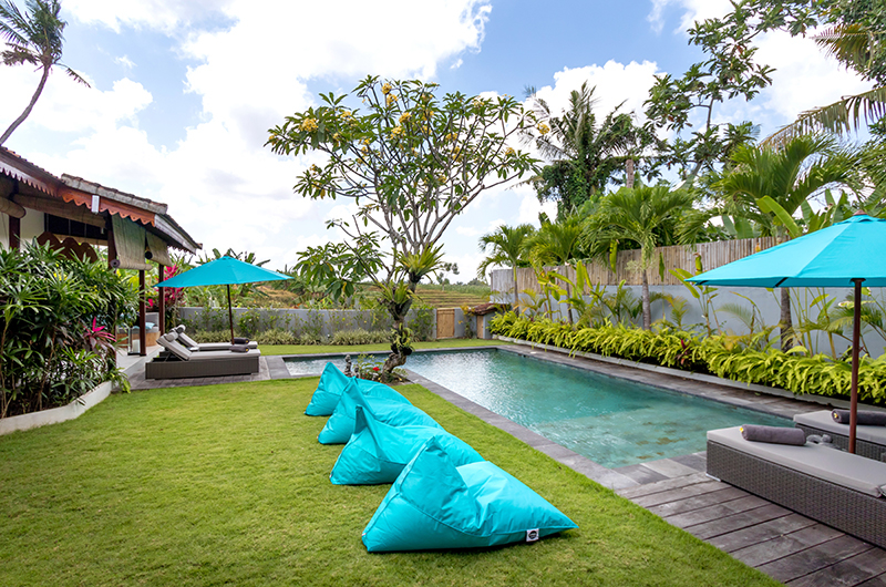 Gardens and Pool - Villa Maya Canggu - Canggu, Bali